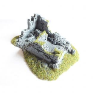 Javis Countryside Scenic Terain Ruined House Corner No 2 Wargame Railway Modelling